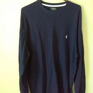 NWT Men's Polo Ralph Lauren Blue Thermal Shirt 2X